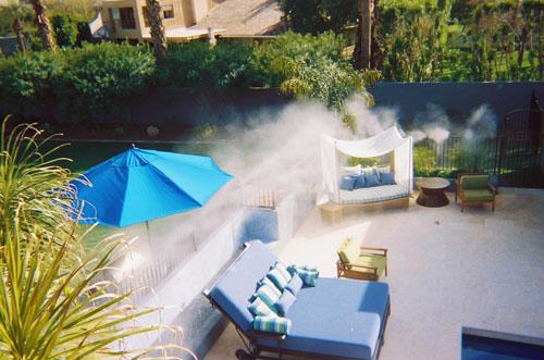 Misting Poolside - Universal Fog Misting Systems