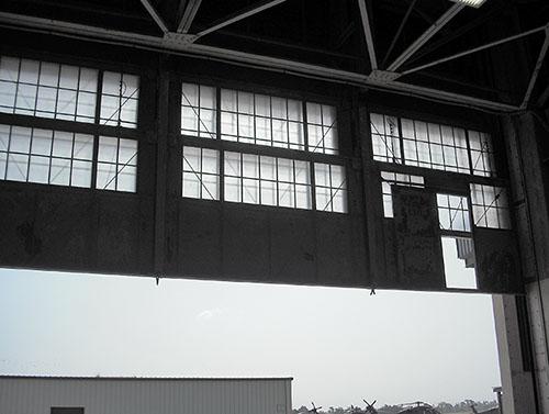 Overhead Folding Door