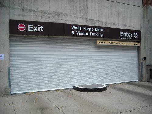 Parking Garage Overhead Door