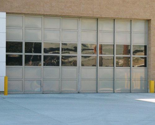 Custom Tel-A-Sliding Door, Los Angeles, CA.  Fire Station
