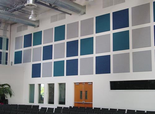Calvary Chapel - LBI/Boyd Wallcoverings/Acoustical Panels