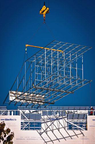 Swinomish Roof Truss - Metier Construction, Inc.