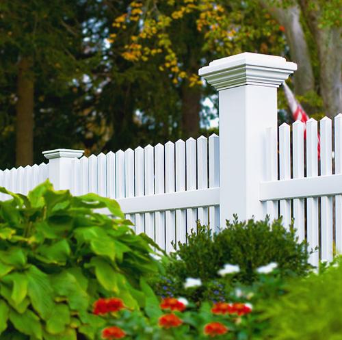 Vinyl Fencing  - Cornerstone Fence & Ornamental Gate LLC