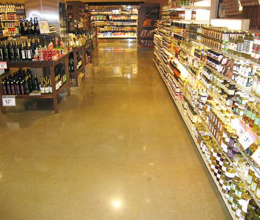 Commercial Floors - Pacific Decorative Concrete Inc.