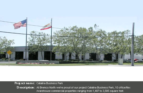 Catalina Business Park - Bremco of Northern California, Inc.
