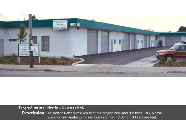 Meekland Business Park - Bremco of Northern California, Inc.
