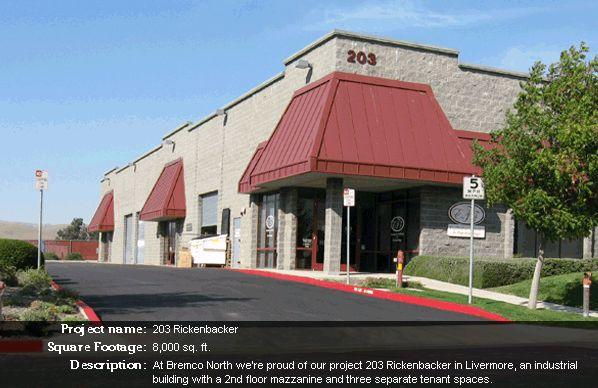 203 Rickenbacker - Bremco of Northern California, Inc.