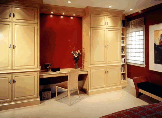 Bedroom 1 - California Cabinet Installation