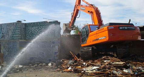 Demolition Industrial - Clancy Contracting Services Inc.