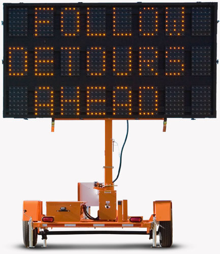Variable Message Signs - Sunrise Safety Services