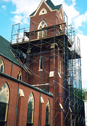 Immaculate Conception Church- Newburyport, MA - Logan Masonry & Restoration Company