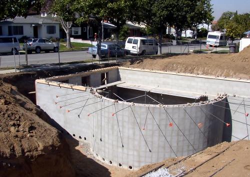 Masonry - Foundation Construction  - Rick Hamm Construction, Inc.