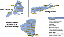 We are located in Bronx County.
