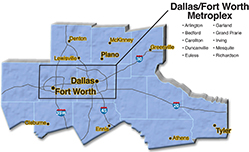 We are located in Dallas County.