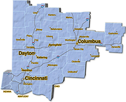 We are located in Hamilton County.