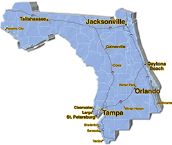 We are located in Pinellas County.