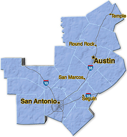 We are located in Bexar County.