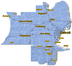We are located in Washtenaw County.