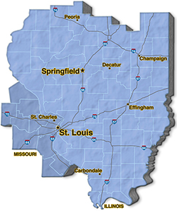 We are located in Jefferson County. - Bendler Boiler & Mech. Co., Inc.