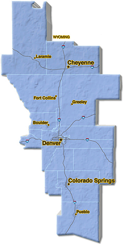 We are located in Pueblo County.