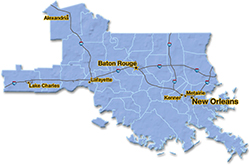 We are located in Lafayette County. - Upland Services, Inc.