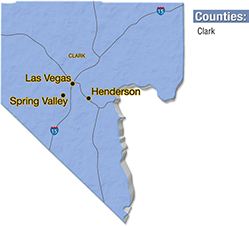 We are located in Clark County.