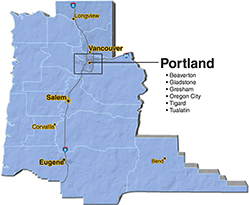 We are located in Multnomah County. - Eastside Paving, Inc.