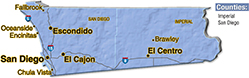 We are located in San Diego County. - Waves Environmental
