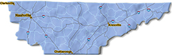 We are located in Davidson County.