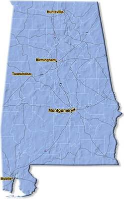 We are located in Madison County.