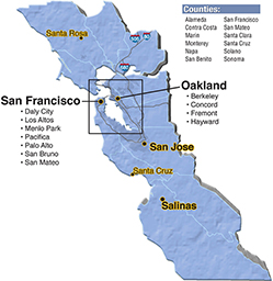 We are located in Santa Cruz County.