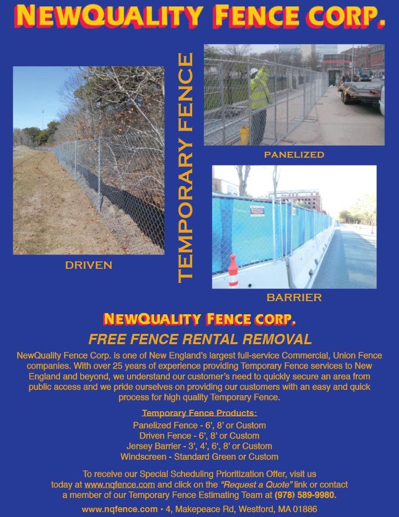 Commercial Fences In E Massachusetts Rhode Island S