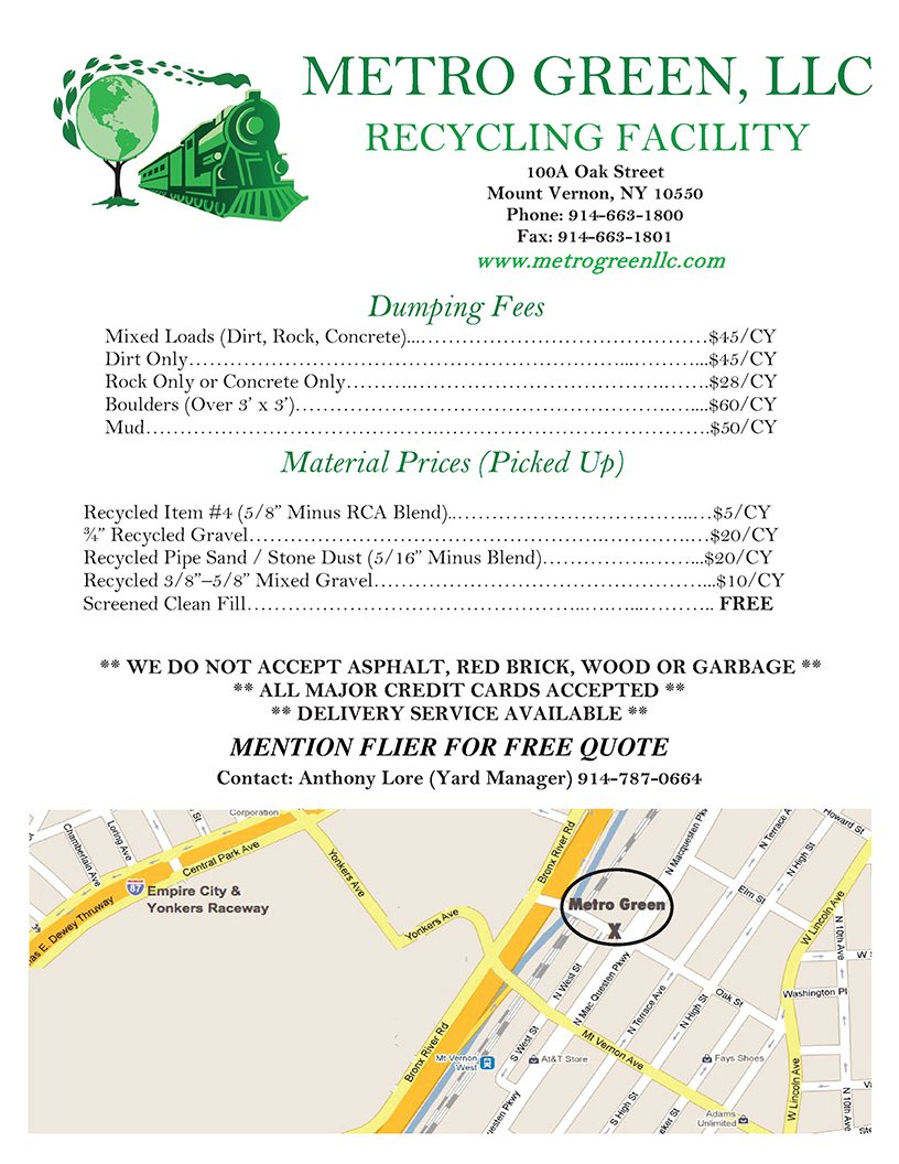 Commercial Recycling Centers in New York City, Long Island