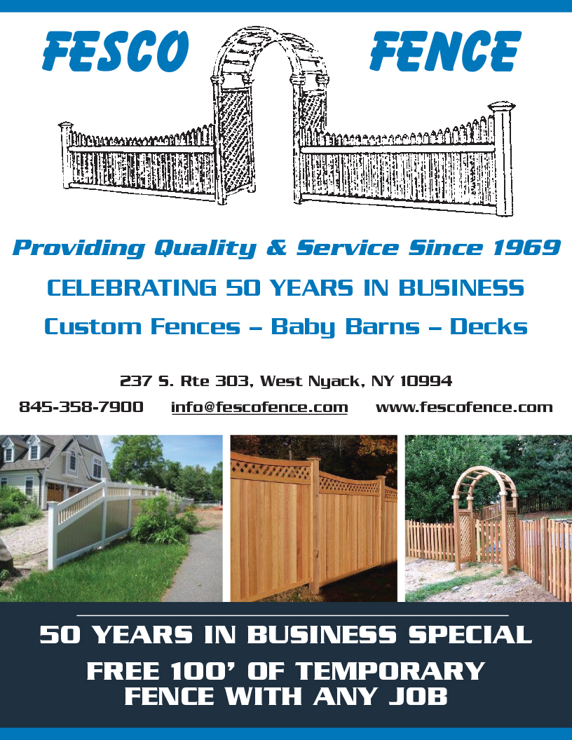 Commercial Fences in New York City, Long Island & Hudson