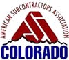Logo for ASAC (American Subcontractors Assn. of Colorado)