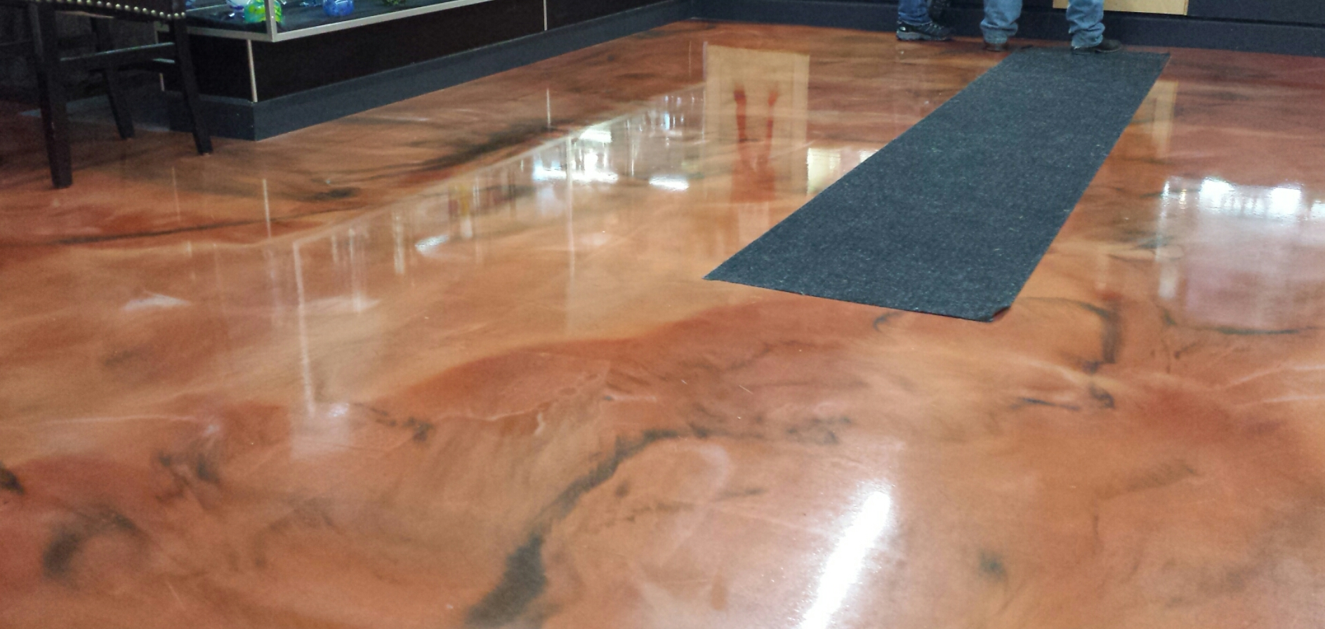 pour on flooring gurus floor