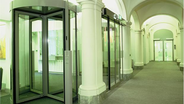 Security Breach Doors- Record Automatic Doors