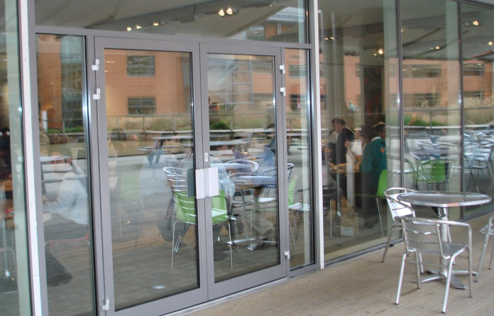 Swing Door Entrances- Record Automatic Doors