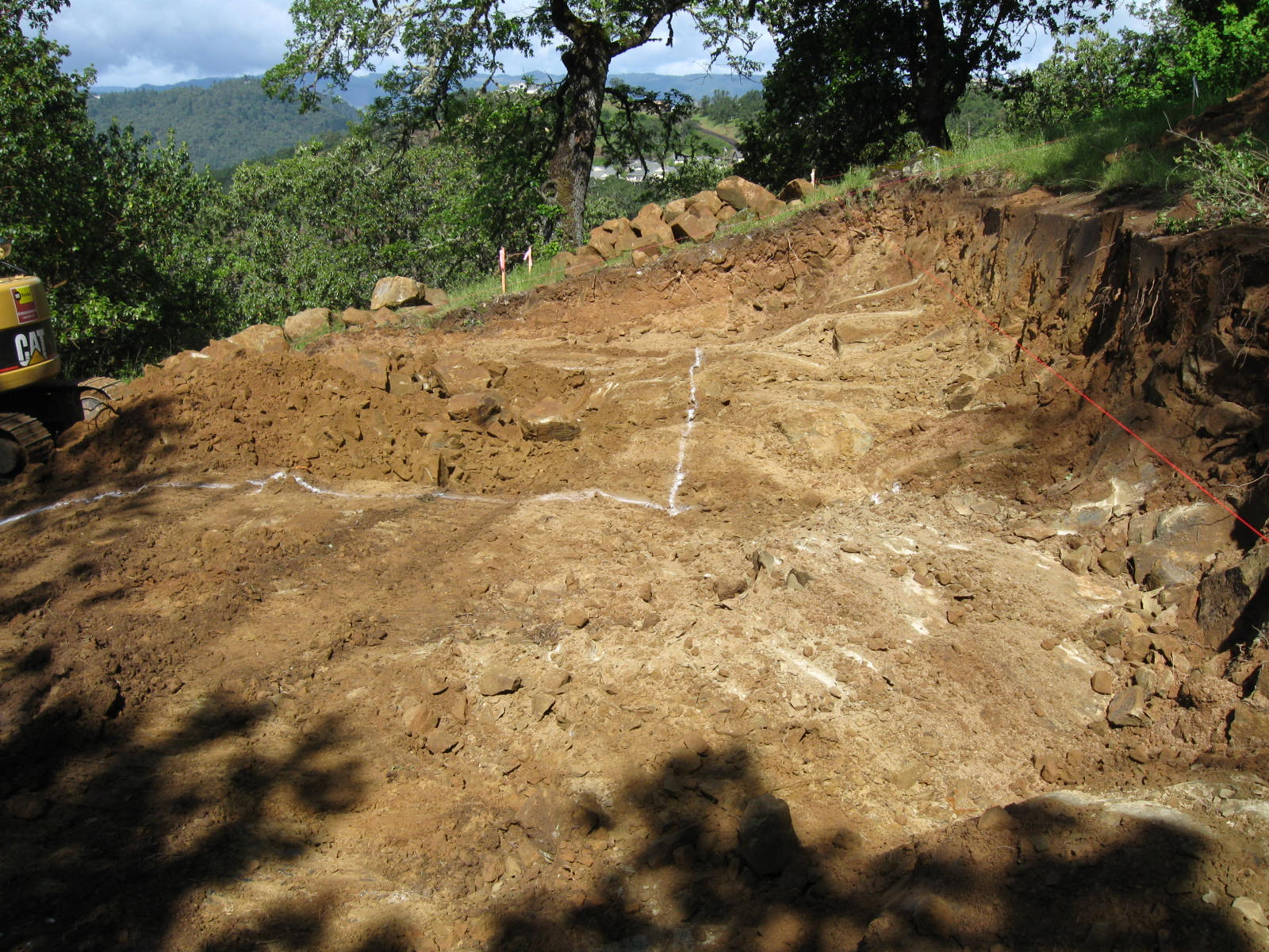 Roseburg OR - Site Pad Construction