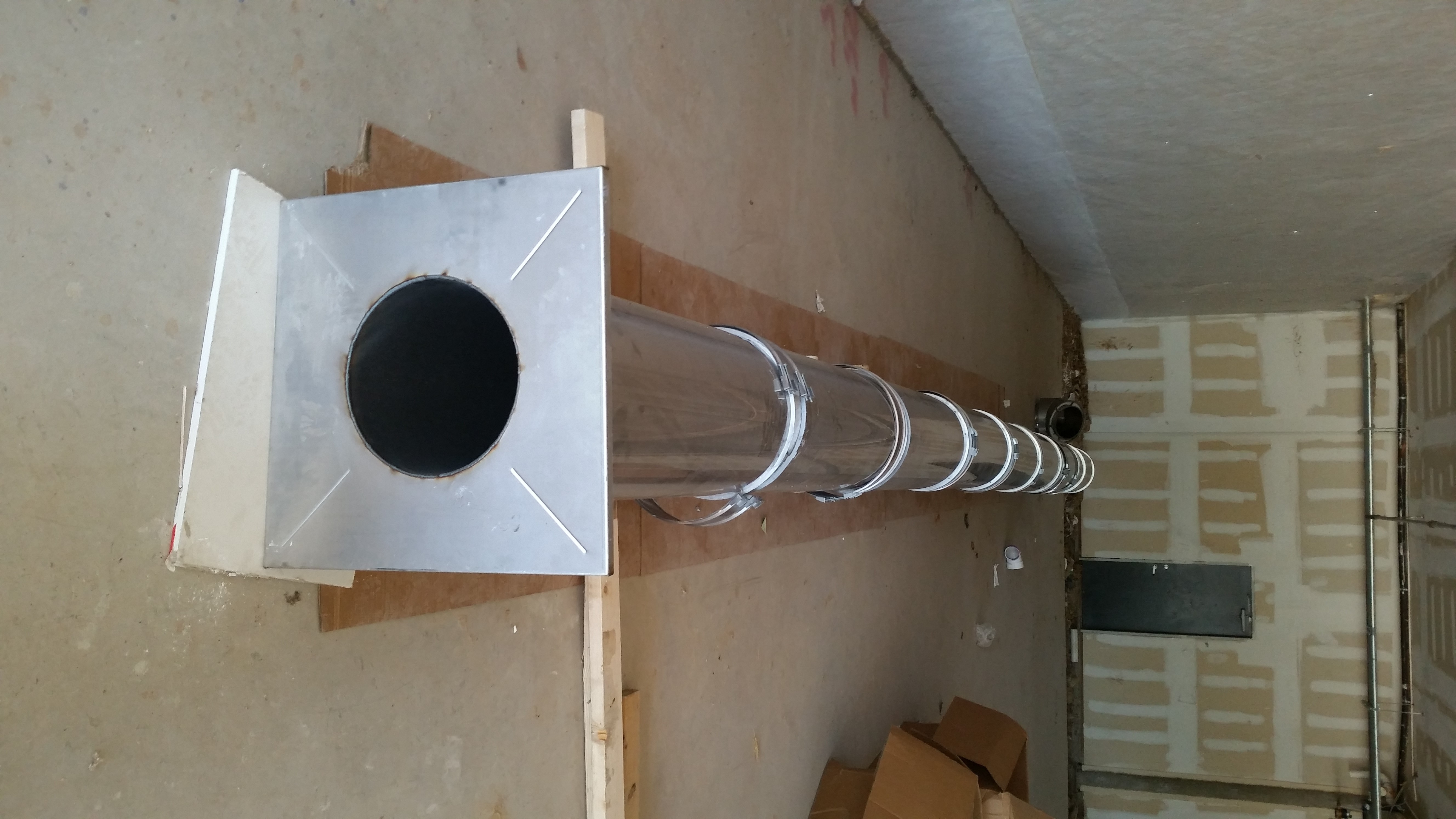 Captive Aire Pre Fab Grease Duct