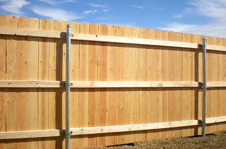 Alamo Decks Amp Fence 1x6x6 Cedar Fence W Galvanized Posts
