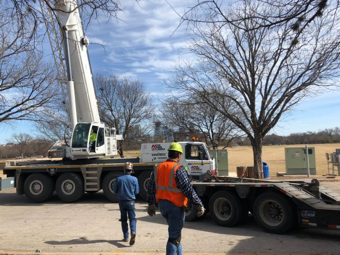 Zilker Park Pump-House Relocation