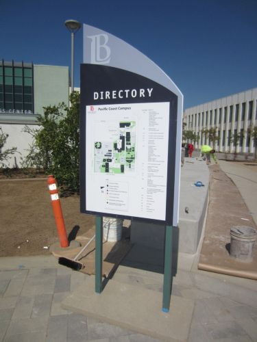 Braille Signs Inc Long Beach City College Pcc Building