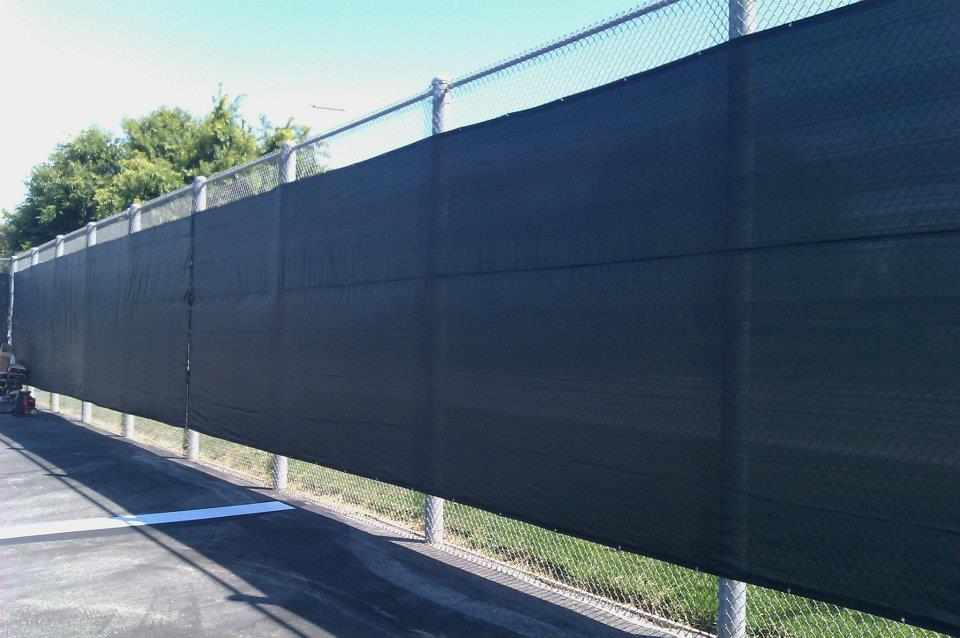 Tennis Court Wind Screen Chain Link Fence