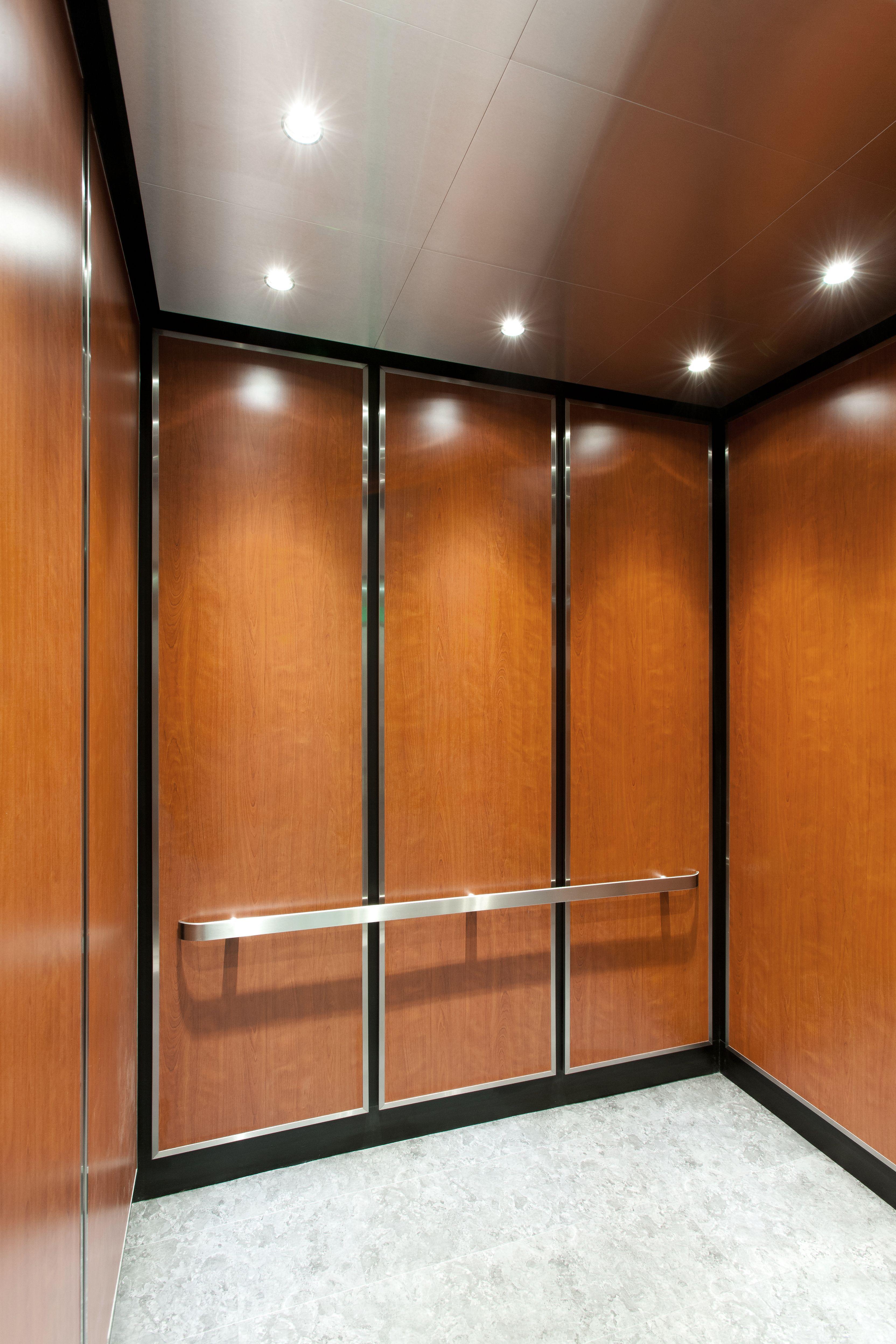 Chesapeake Elevator Interiors Inc Wood Grain Plastic