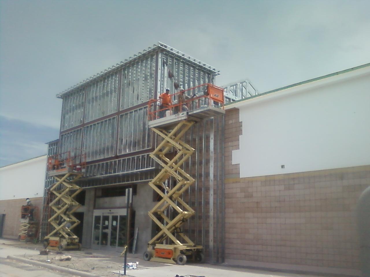 C.P.F. Drywall, Inc. - Exterior Metal Stud Framing & Plywood ...