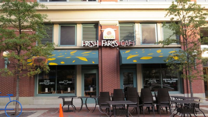 Fresh Farms Cafe Awnings