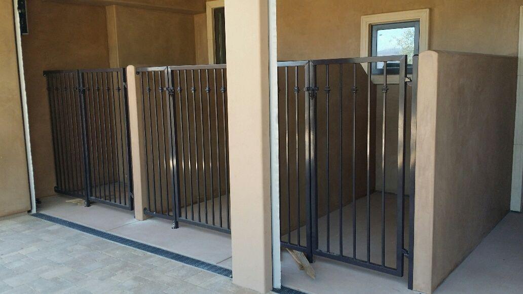 Jays Welding Iron Works Inc Wrought Iron Dog Kennel Gates
