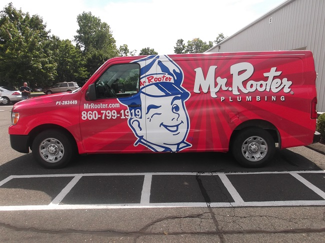 Full Wrap Mr Rooter