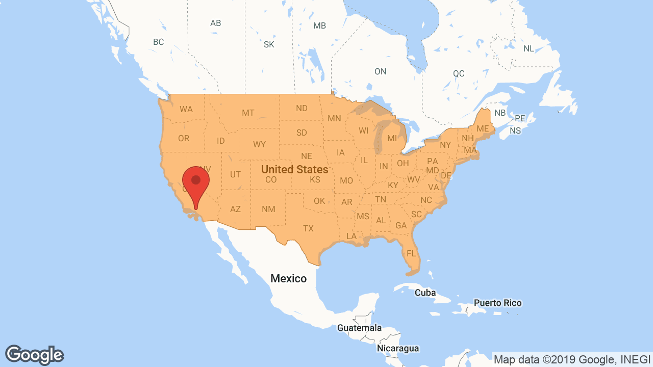 Service Area and Locations Map for National Hardwood Flooring & Moulding